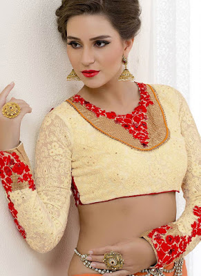 Latest-designer-plus-size-blouses-for-women-with-curves-9