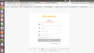 Binance Affiliate Login
