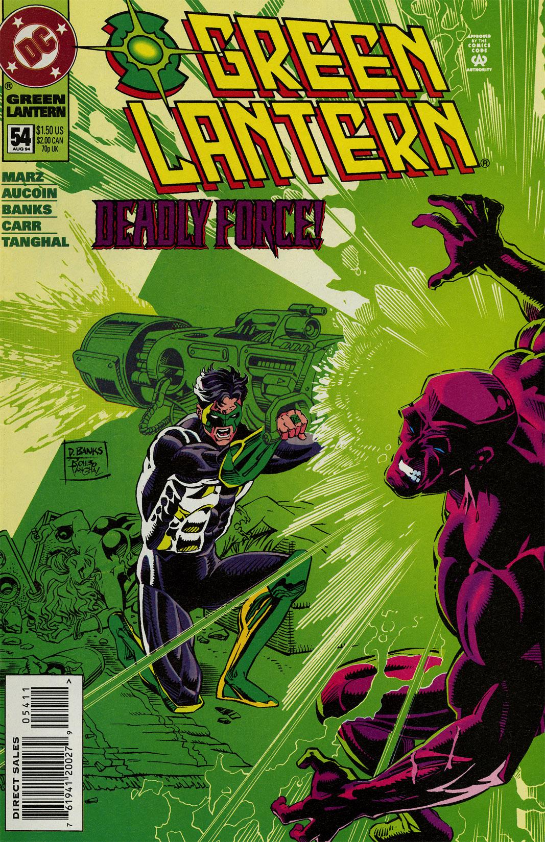 Green Lantern (1990) 54 Page 1
