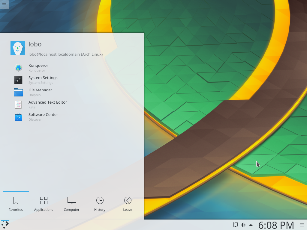Linux dicas e suporte: Instalação do KDE no Arch Linux