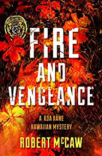 Book Review and GIVEAWAY: Fire and Vengeance, by Robert McCaw {ends 7/25}