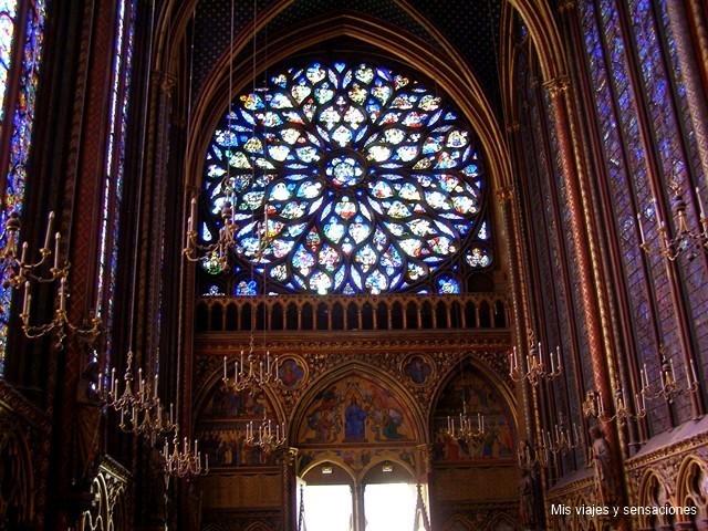 La Sainte Chapelle, París