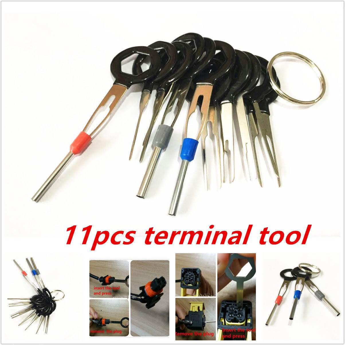 Wiring Harness Pin Removal Tool Electrical Diagrams Sst Wire Terminal Extraction Remove 11pcs Set 16 Diagram