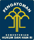 Kementerian Hukum dan HAM (Kemenkumham), logo Kemenkumham