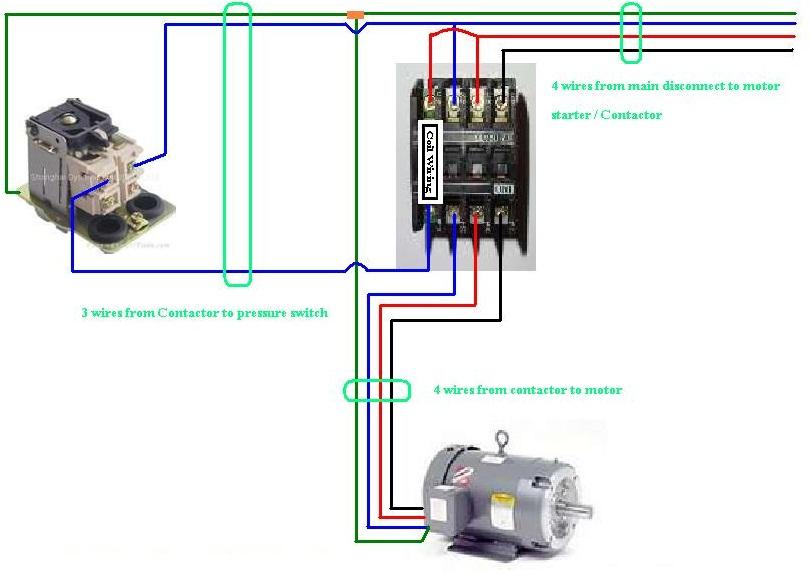 Ac Contactor Wiring Diagram