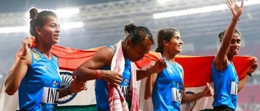 Asian Games 2018: India win 4x400M women's relay gold, men win silver