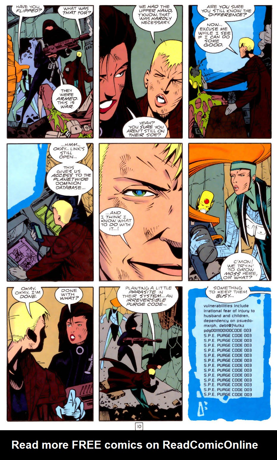 Legion of Super-Heroes (1989) 34 Page 10