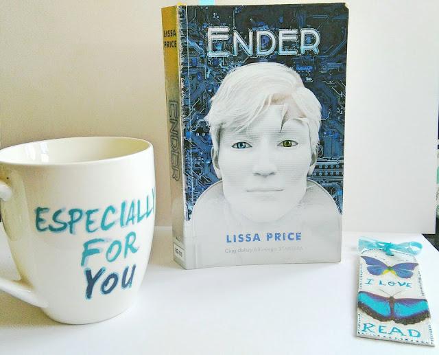 """,,Ender"""" Lissa Price  Kubek, zakładka, recenzja"""