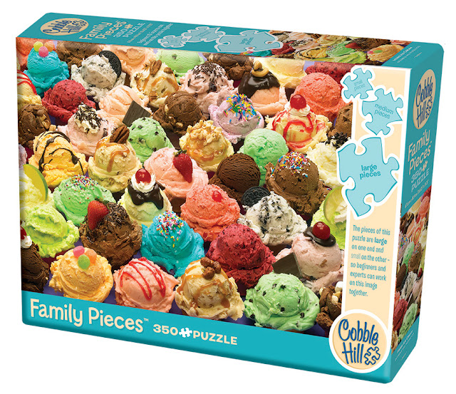 Family Pieces 350 puzzle by Cobble Hill Creations