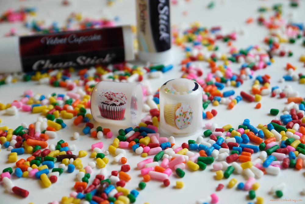 Chapstick Limited Edition Flavors: Cake Batter + Velvet Cupcake