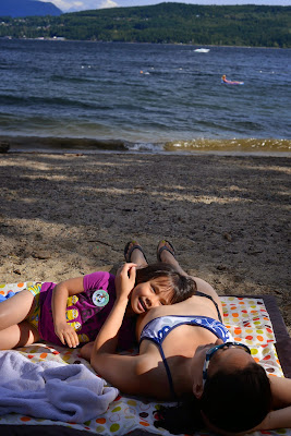 Shuswap Lake Provincial Park beach