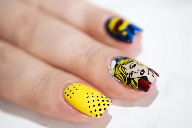 Born Pretty Store Artist L001 Pop Art Bright Nail Art