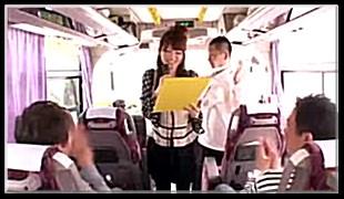 기획물-관광버스안 커플 섹스