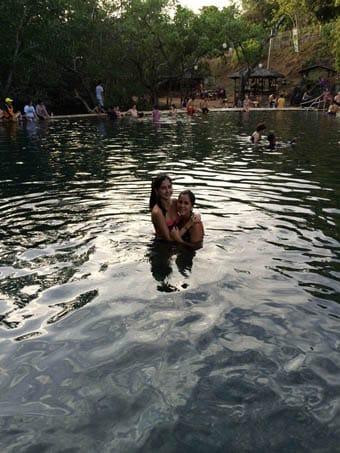 Coron Hotspring Swimming