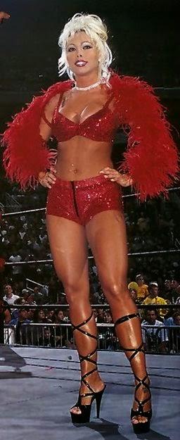 Stephanie Bellars aka Gorgeous George - WCW