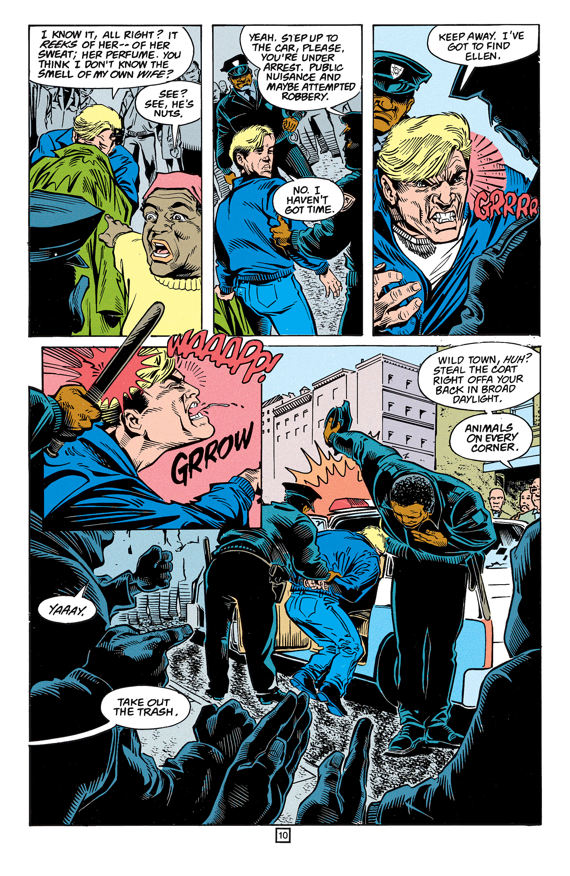 Read online Animal Man (1988) comic -  Issue #59 - 11