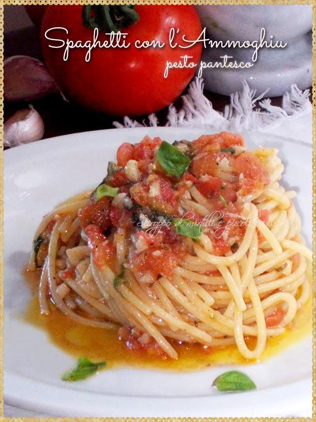 Spaghetti con l'Ammoghiu