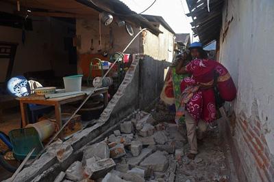 Malang Dilanda Gempa 5,2 SR