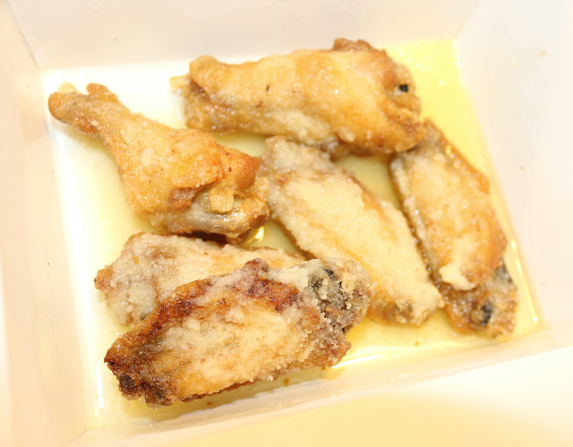 Santucci's Pizza - Garlic Parmesan Wings