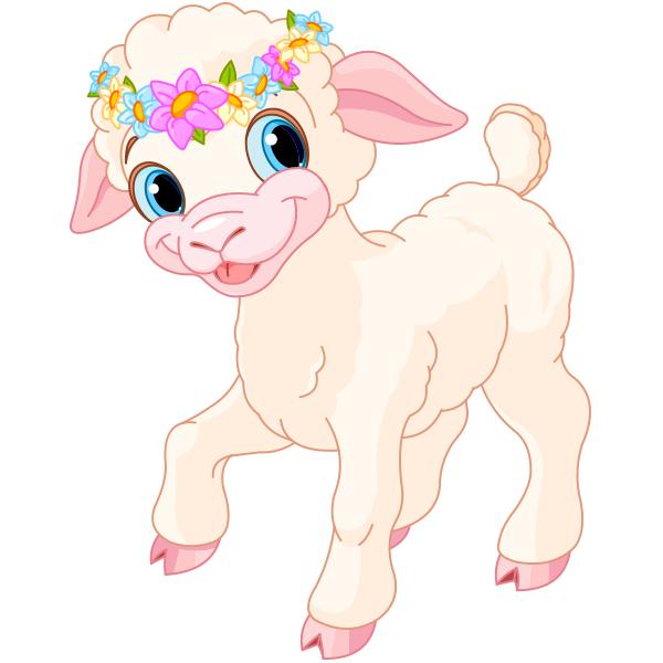 Floral Lamb