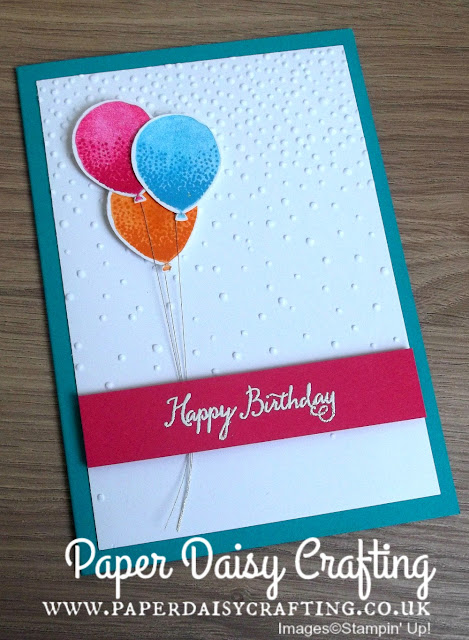 Balloon Celebration from Stampin' Up!