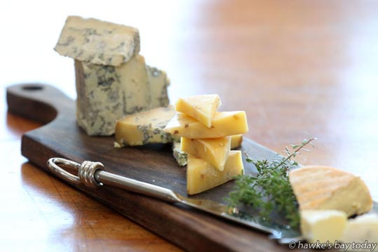 Juliet Harbutt, Havelock North, one of the world's leading authorities on cheese, has just relocated to Hawke's Bay from the United Kingdom. photograph