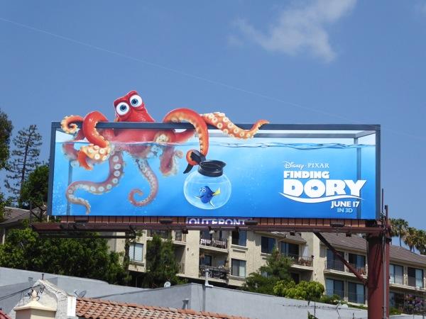 Finding Dory movie billboard
