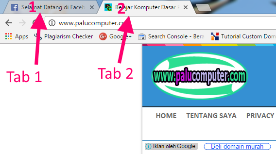 tab google chrome loading kembali
