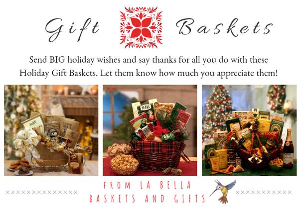 Kim's La Bella Baskets And Giftfs 2018 Holiday Gift Baskets