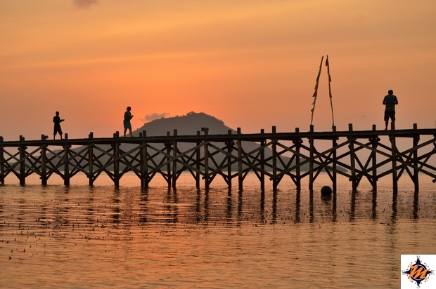 Kanawa, tramonto