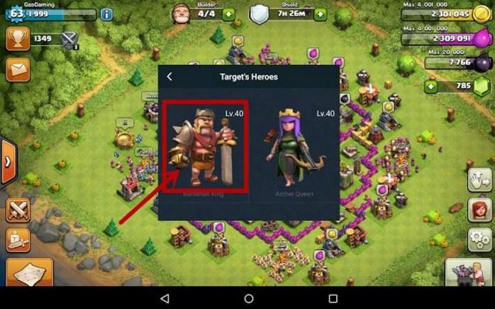 Cara Mengatur Level Archer Queen dan Barbarian King Sesuai Keinginan