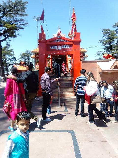 jakhu temple shimla.