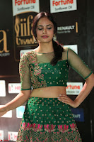Nandita Swetha in a tight Green Choli Ghagra at IIFA Utsavam Awards March 2017 ~ 070.JPG