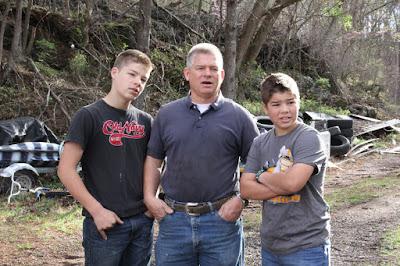 Jackson Bates, Gil Bates, Isaiah Bates