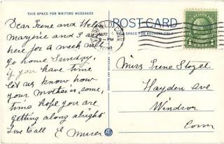 contoh post card zaman dulu