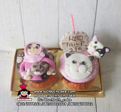 Cupcake Pecinta Kucing