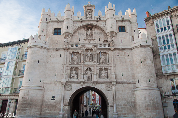 Arco de Santa Maria de Burgos