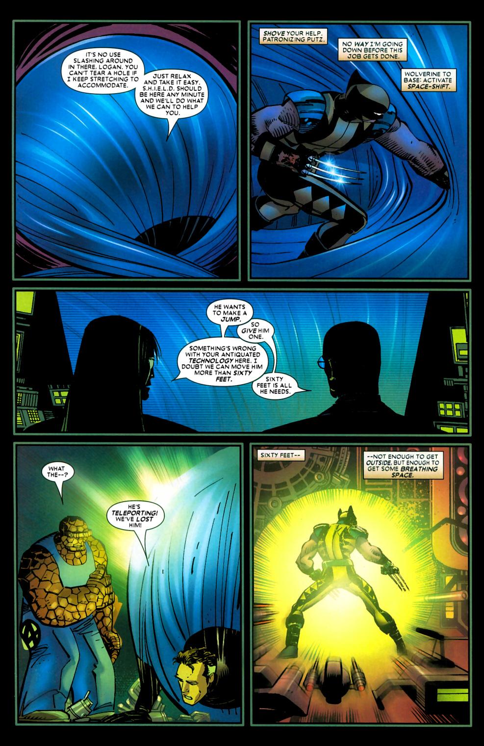 Read online Wolverine (2003) comic -  Issue #22 - 16