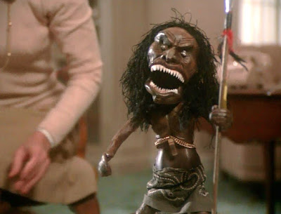 "Boneco assassino do ""Trilogy of Terror"""