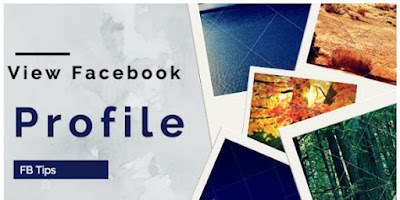 How to View your Facebook Profile as Public
