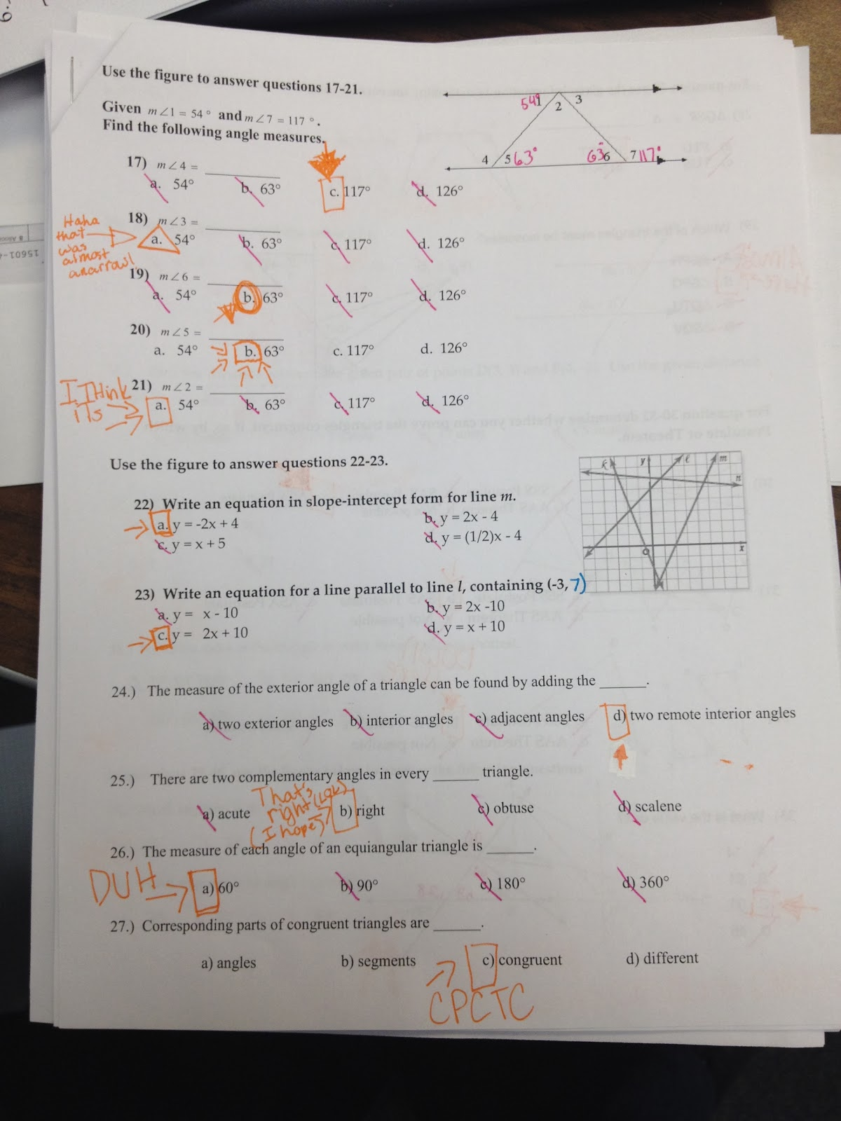 8 1 Skills Practice Geometric Mean Worksheet Answers