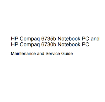 HP Compaq 6735b Service Manual