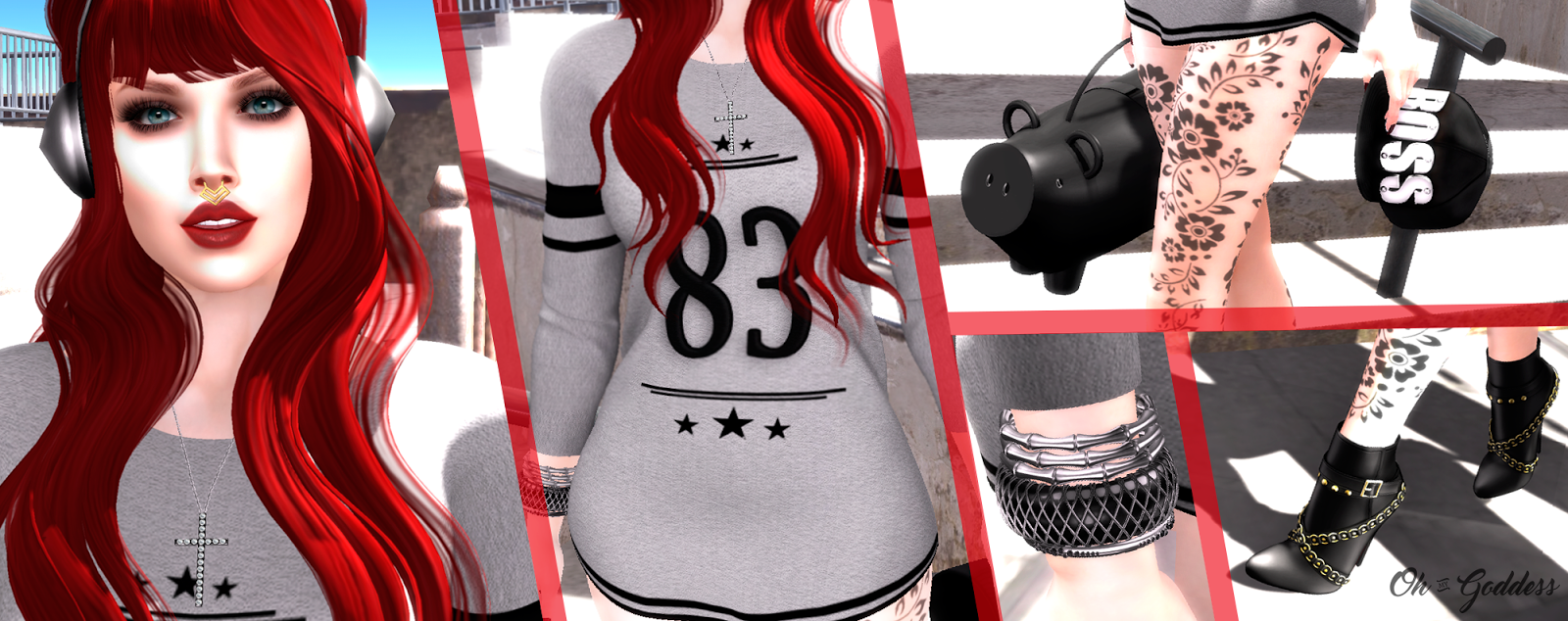 Second Life Fashion Blog: Sk8er Boi ♥ - The Gacha Garden / Tres Chic Venue Nov 16