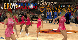 NBA 2K13 Cheerleaders