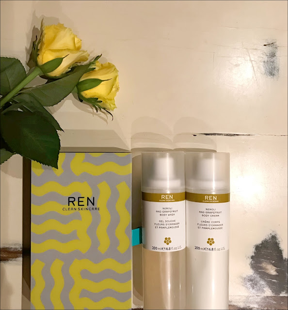 My Midlife Fashion, REN Skincare neroli duo gift set