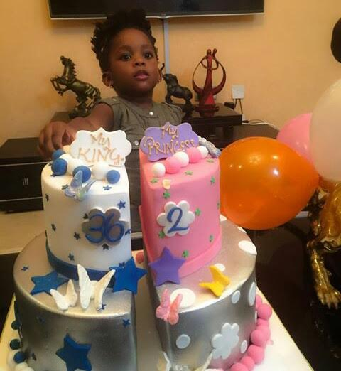 Check Out The Birthday Cake Bovis Wife Got Him And Their Daughter As They Celebrated ERICCHIN