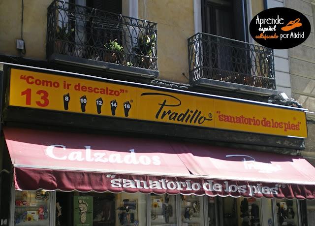 Aprende español callejeando por Madrid: Falsos amigos