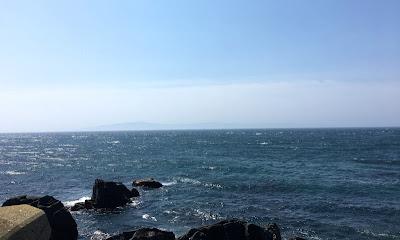 戸井から見る津軽海峡