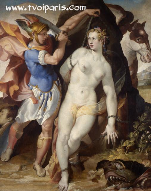 Бартоломео Пассаротти. Персей и Андромеда.