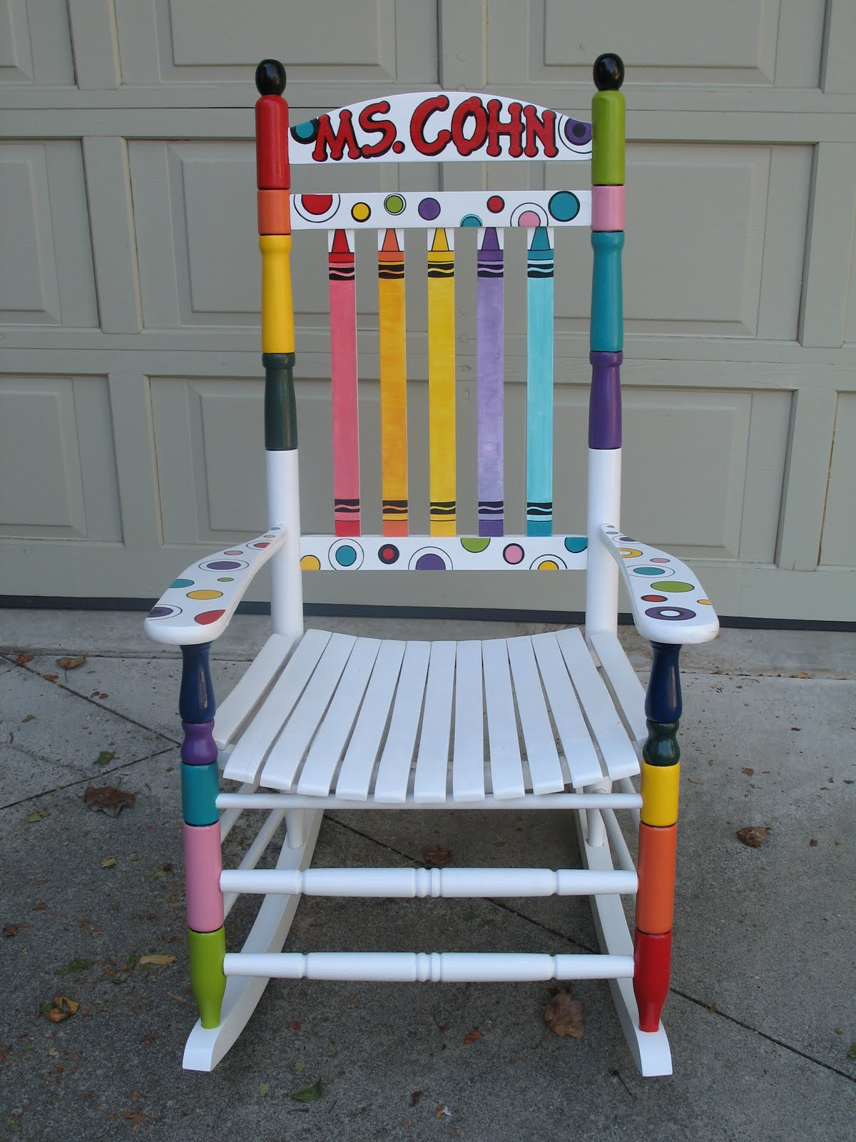 Teacher Rocking Chair Bedroom White Legs A Handmade Classroom Part 2 Lessons Learned